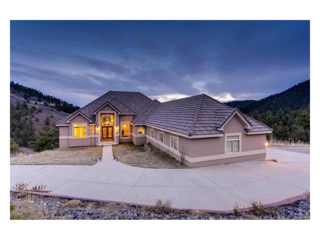 15450 Elk Mountain Trail, Littleton, CO 80127 (MLS #9800639) :: 8z Real Estate