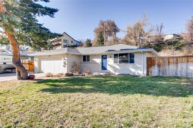 12235 W 34th Place, Wheat Ridge, CO 80033 (#9801169) :: The Heyl Group at Keller Williams