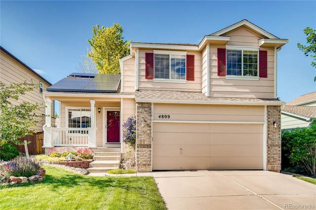 4809 Collinsville Place, Highlands Ranch, CO 80130 (#9801451) :: Peak Properties Group