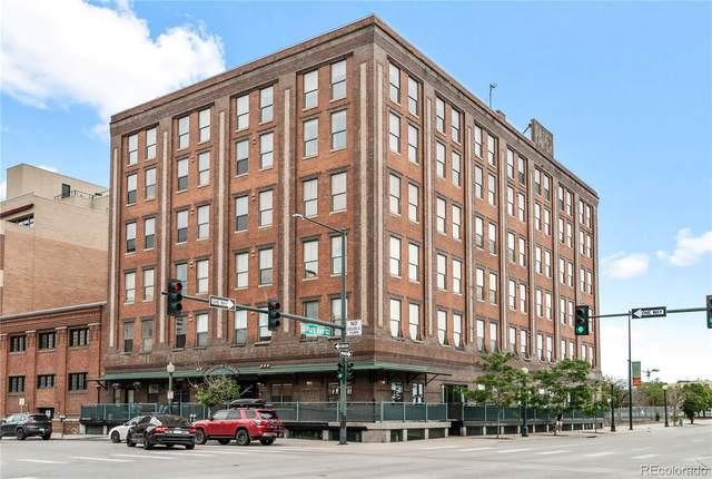 2261 Blake Street 1E, Denver, CO 80205 (MLS #9802096) :: 8z Real Estate