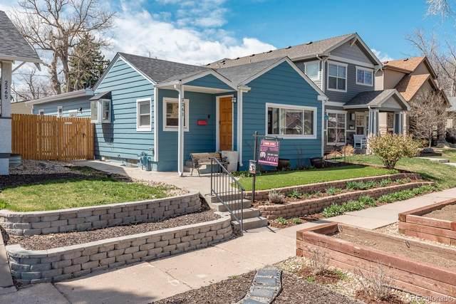2261 S Marion Street, Denver, CO 80210 (#9805074) :: The DeGrood Team