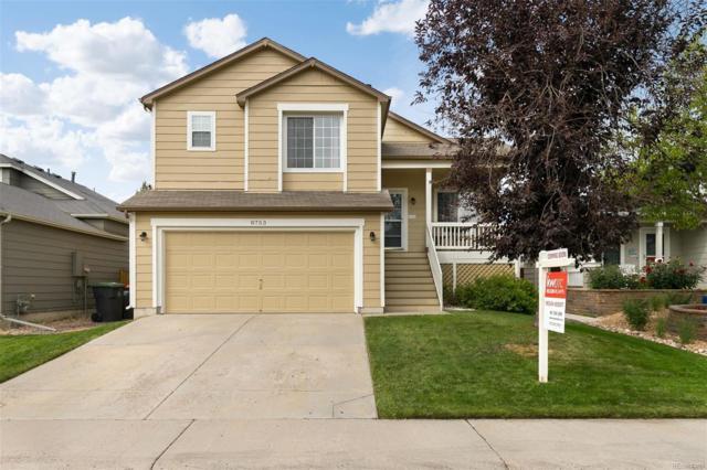 8753 Cloverleaf Circle, Parker, CO 80134 (#9805533) :: House Hunters Colorado