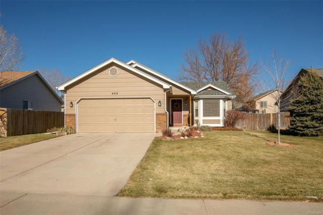 443 La Costa Lane, Johnstown, CO 80534 (#9805657) :: Colorado Home Finder Realty