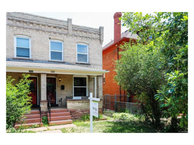 2442 N High Street, Denver, CO 80205 (MLS #9809019) :: 8z Real Estate