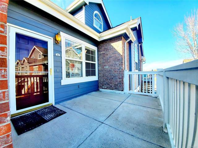 16326 E Fremont Avenue #11, Aurora, CO 80016 (#9809669) :: The Peak Properties Group