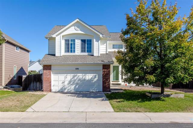 698 Pitkin Way, Castle Rock, CO 80104 (#9814794) :: The DeGrood Team