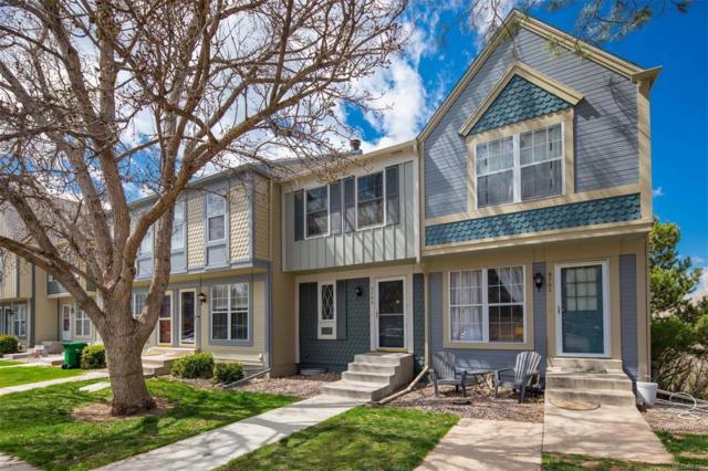 9733 W Cornell Place, Lakewood, CO 80227 (#9817374) :: The DeGrood Team
