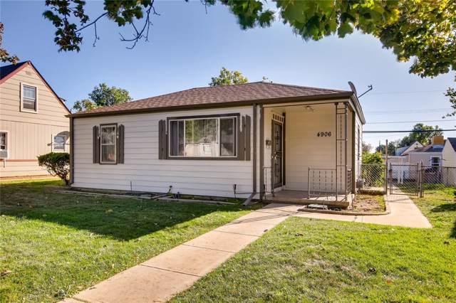4906 Tejon Street, Denver, CO 80221 (#9819832) :: HomePopper