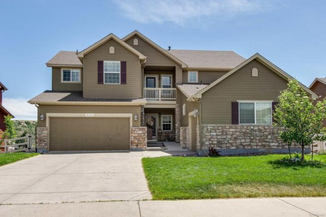 4116 Eagle Ridge Way, Castle Rock, CO 80104 (#9825881) :: The HomeSmiths Team - Keller Williams