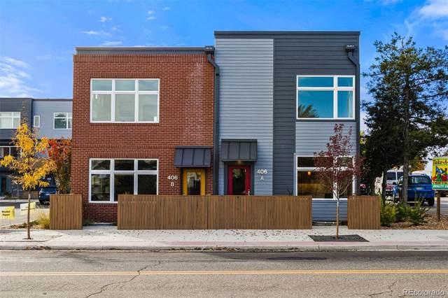 406 W Baseline Road A, Lafayette, CO 80026 (#9827235) :: James Crocker Team