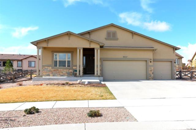 8027 Bigcone Circle, Colorado Springs, CO 80927 (#9827832) :: The Peak Properties Group