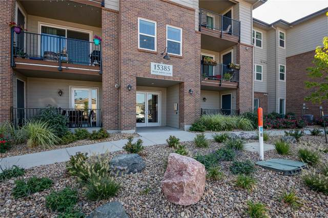 15385 W 64th Lane #308, Arvada, CO 80007 (#9828540) :: The Gilbert Group