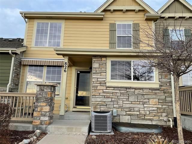 826 Stony Mesa Place, Castle Rock, CO 80108 (#9840608) :: Venterra Real Estate LLC