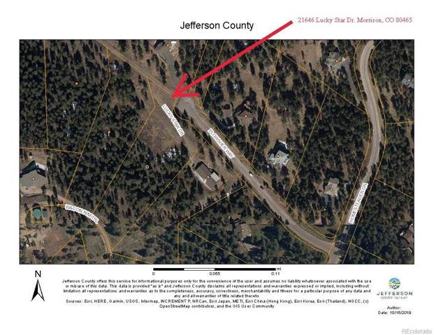 21646 Lucky Star Drive, Morrison, CO 80465 (#9840754) :: 5281 Exclusive Homes Realty