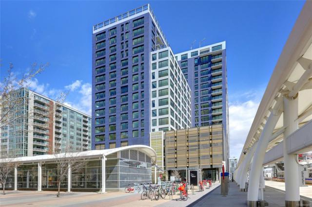 1750 Wewatta Street #738, Denver, CO 80202 (#9846015) :: The Dixon Group
