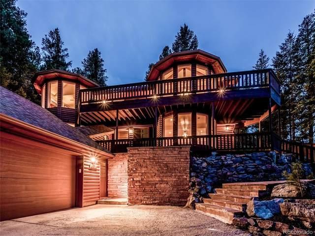 4662 Plettner Lane, Evergreen, CO 80439 (#9851192) :: iHomes Colorado