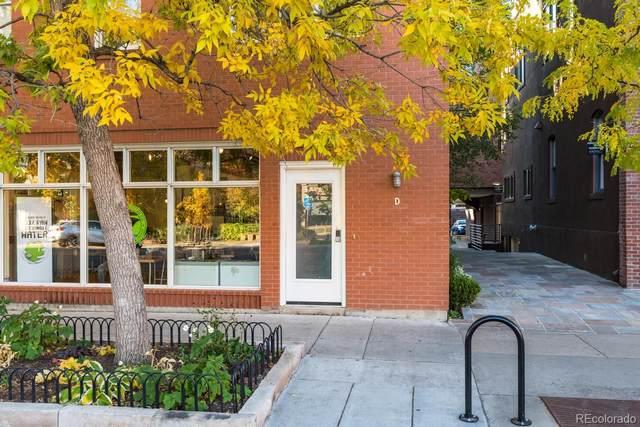 840 Pearl Street D, Boulder, CO 80302 (#9852144) :: milehimodern