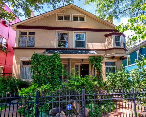 1237 Pearl Street, Denver, CO 80203 (#9854872) :: The DeGrood Team