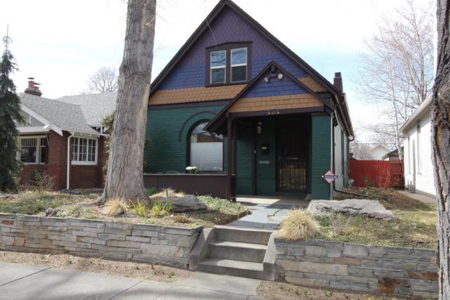 451 S Corona Street, Denver, CO 80209 (#9855037) :: The Pete Cook Home Group