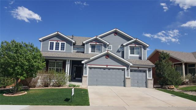 1198 Baguette Drive, Castle Rock, CO 80108 (#9862527) :: The Griffith Home Team