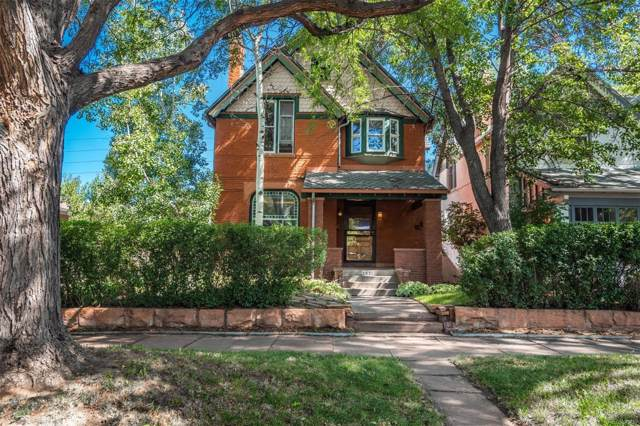 1632 Vine Street, Denver, CO 80206 (#9866884) :: Berkshire Hathaway Elevated Living Real Estate