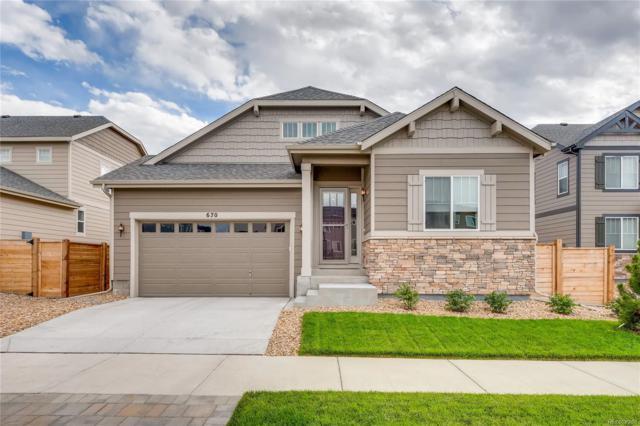 670 E Dry Creek Place, Littleton, CO 80122 (MLS #9868442) :: 8z Real Estate