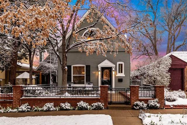 445 Saint Paul Street, Denver, CO 80206 (#9869466) :: Hudson Stonegate Team
