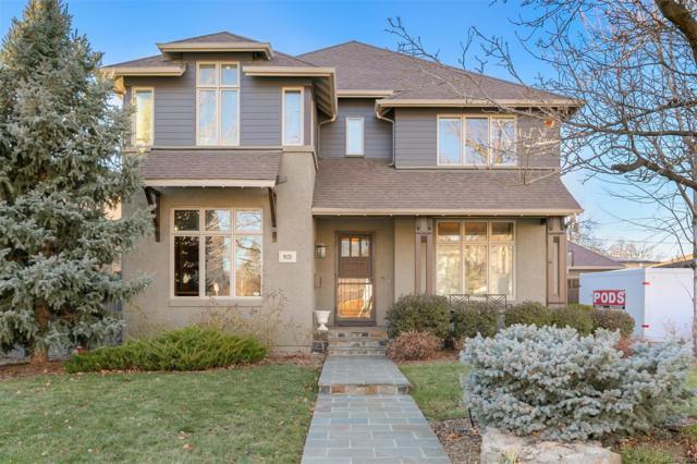 921 Olive Street, Denver, CO 80220 (#9870208) :: The HomeSmiths Team - Keller Williams