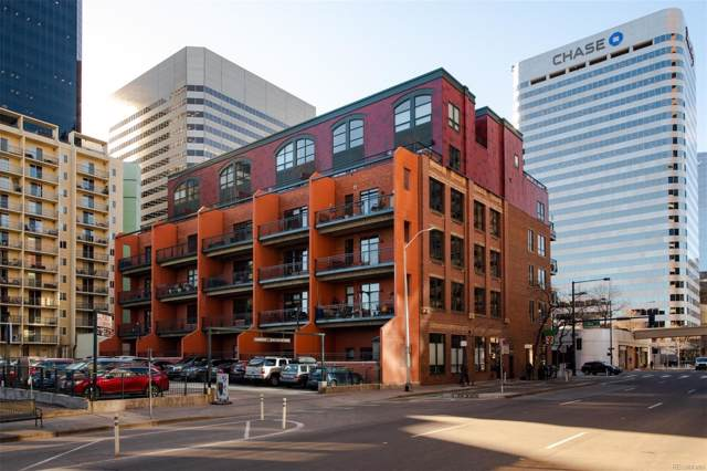 1800 Lawrence Street #203, Denver, CO 80202 (MLS #9872133) :: Bliss Realty Group