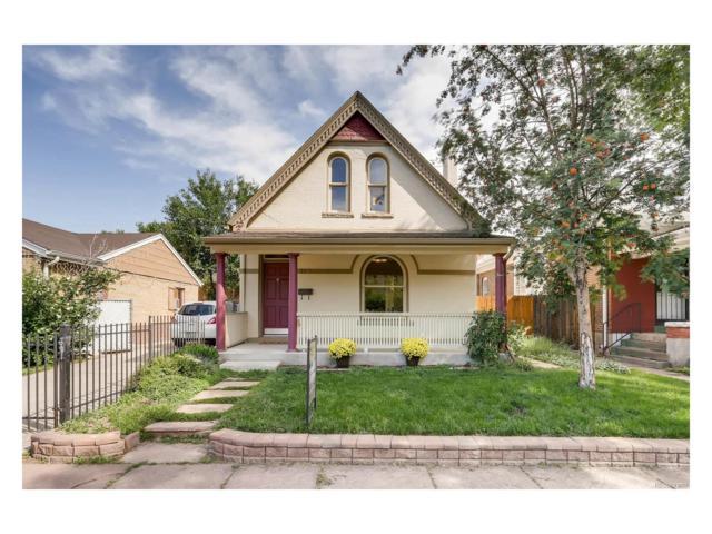 2539 W Caithness Place, Denver, CO 80211 (MLS #9875847) :: 8z Real Estate