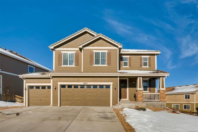 2405 Trailblazer Way, Castle Rock, CO 80109 (#9876005) :: The Pete Cook Home Group