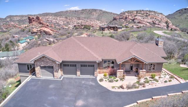 9521 S Cougar Road, Littleton, CO 80127 (#9878942) :: The HomeSmiths Team - Keller Williams