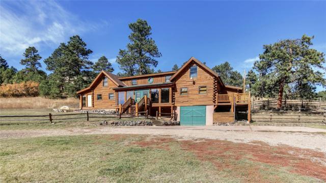7855 S Sourdough Drive, Morrison, CO 80465 (MLS #9880041) :: 8z Real Estate