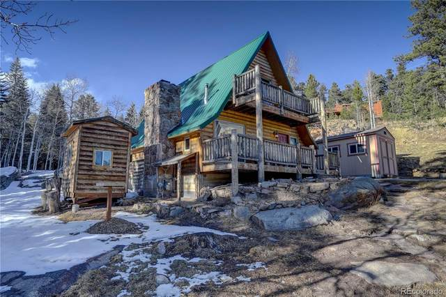 8107 S Brook Forest Road, Evergreen, CO 80439 (#9884717) :: The Dixon Group