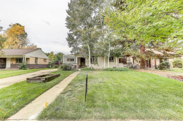 845 Newport Street, Denver, CO 80220 (#9885560) :: The Galo Garrido Group