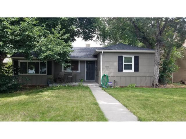 1874 S Madison Street, Denver, CO 80210 (MLS #9886720) :: 8z Real Estate