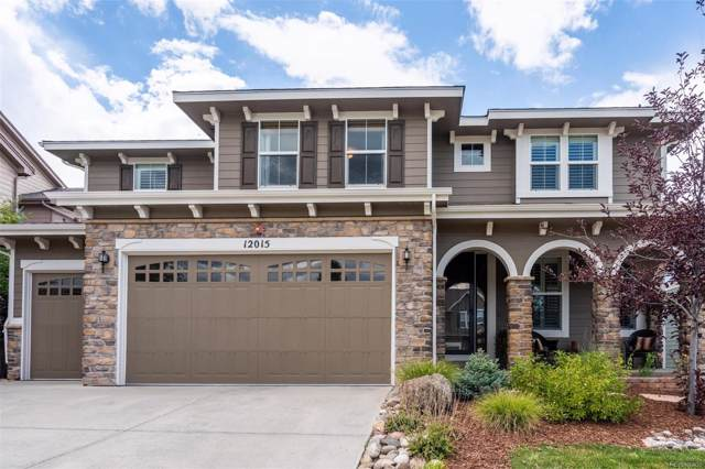 12015 Blackwell Way, Parker, CO 80138 (MLS #9887600) :: 8z Real Estate