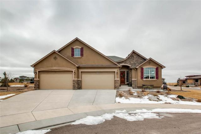 2140 Bent Creek Drive, Colorado Springs, CO 80921 (#9894175) :: The Pete Cook Home Group