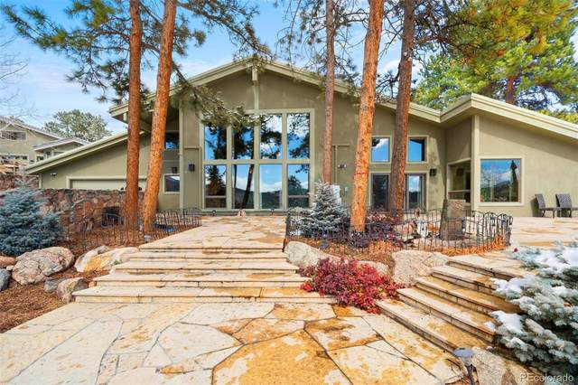 33077 Alta Vista Drive, Evergreen, CO 80439 (MLS #9897264) :: The Sam Biller Home Team