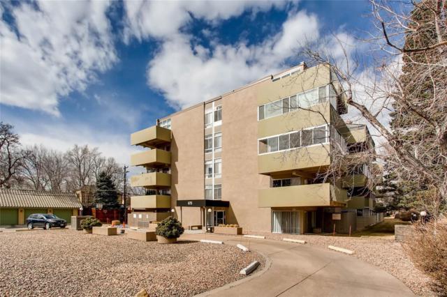 675 S University Boulevard #502, Denver, CO 80209 (#9899559) :: RE/MAX Professionals
