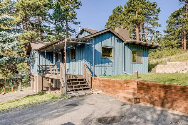 158 Rose Hip Lane, Evergreen, CO 80439 (#9899983) :: Peak Properties Group