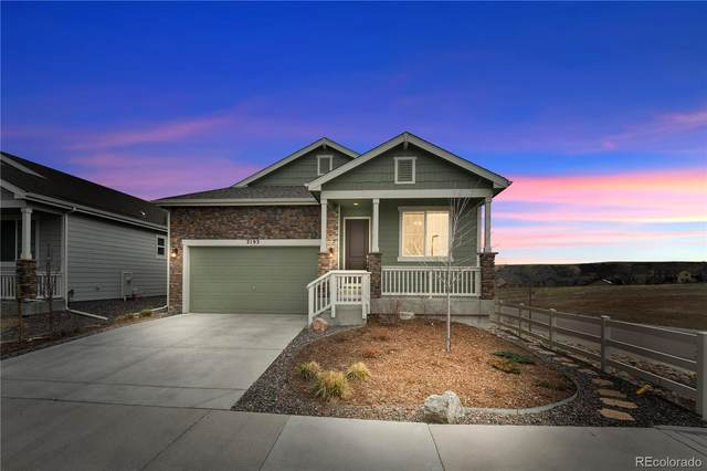 2193 Abigail Lane, Castle Rock, CO 80104 (#9901599) :: Venterra Real Estate LLC