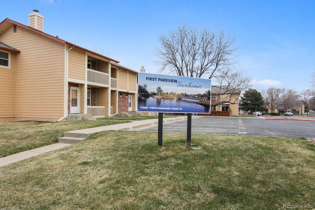 11646 Community Center Drive #118, Northglenn, CO 80233 (#9903909) :: Berkshire Hathaway HomeServices Innovative Real Estate