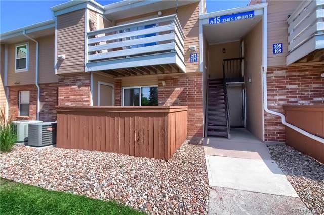 3340 S Ammons Street #107, Lakewood, CO 80227 (MLS #9905344) :: Find Colorado
