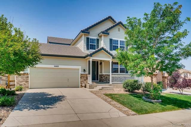 10483 Hillrose Street, Parker, CO 80134 (#9905561) :: Stephanie Fryncko | Keller Williams Integrity