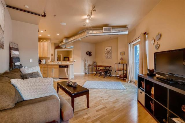 2142 Curtis Street #205, Denver, CO 80205 (#9905820) :: The Griffith Home Team