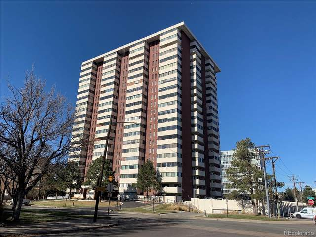 3131 E Alameda Avenue #608, Denver, CO 80209 (#9906955) :: Realty ONE Group Five Star