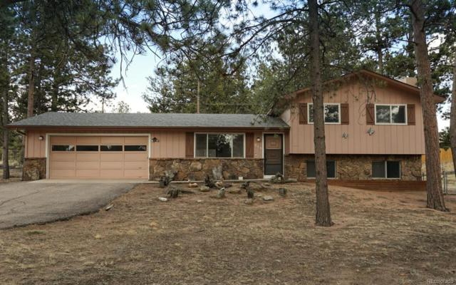 575 Sunnywood Lane, Woodland Park, CO 80863 (#9908052) :: The Pete Cook Home Group