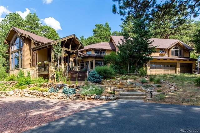 34814 W Meadow Road, Evergreen, CO 80439 (#9910930) :: Sultan Newman Group