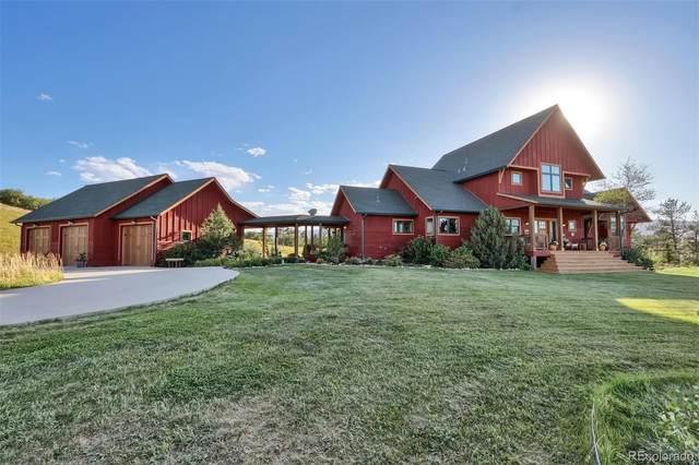 4710 Jackson Creek Road, Sedalia, CO 80135 (MLS #9911857) :: 8z Real Estate
